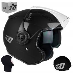 + KUKLA Moto prilba helmet C50, ZED (BLACK MATT) xs-xxl