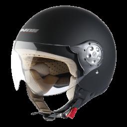 Moto prilba NOX N211 čierná matná