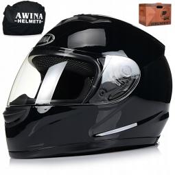 Moto prilba AWINA integrálna čierna