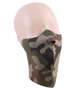 Maska neoprenová maskáčová