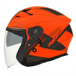 Moto prilba NOX N127 FUSION oranžová
