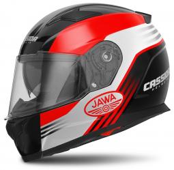 Moto prilba CASSIDA Apex Jawa čierno-červená