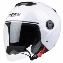 Moto prilba HORN JET H617 biela