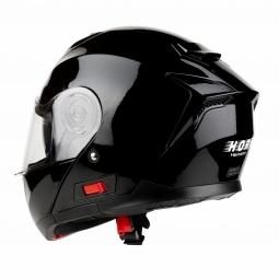 Moto prilba HORN Fli-Up čierná + slunečná clona
