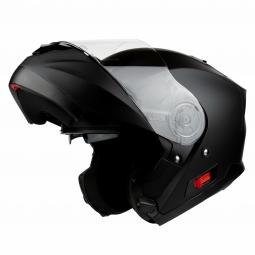Moto prilba HORN Fli-Up čierná matná + slunečná clona