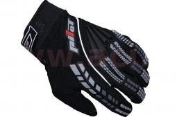 Detské motocyklové rukavice PIONEER čierne
