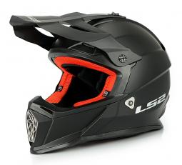 Prilba LS2 MX437 čierna matná