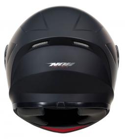 Detská moto prilba NOX N961K čierna matná + kukla