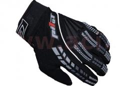 Motocyklové rukavice PIONEER čierne