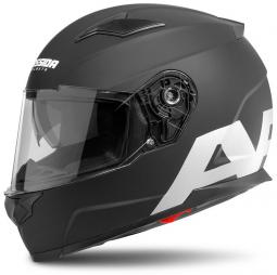 Moto prilba CASSIDA Apex Vision čierna matná