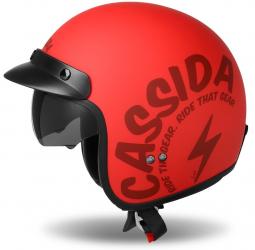 Moto prilba CASSIDA Oxygen Gear červená matná