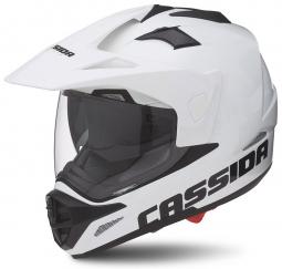 Moto prilba CASSIDA Tour biela
