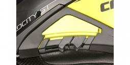 Moto prilba CASSIDA VELOCITY ST 2.1 žlto-čierna